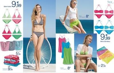 carrefour espana catalogo digital moda bano 2014 - 01