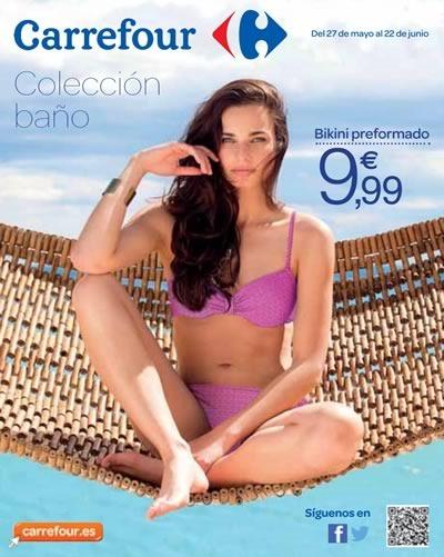 Carrefour España: Catálogo Digital Colección de Moda de Baño 2014