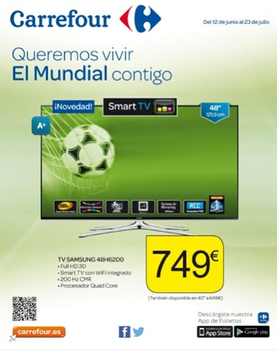 carrefour folleto ofertas electro junio julio 2014 espana