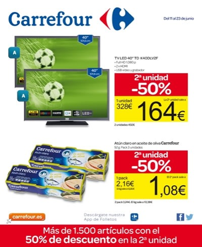 carrefour folleto ofertas junio 2014
