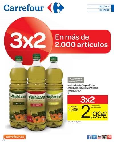 carrefour ofertas folleto enero 2015 espana