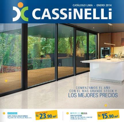 cassinelli 2014 catalogo enero lima