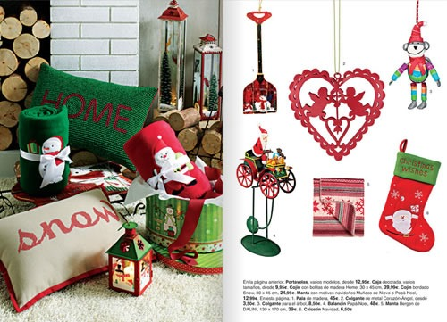Decoracion De Navidad El Corte Ingles ~   el cat?logo de adornos navide?os de El Corte Ingl?s 2013 en este
