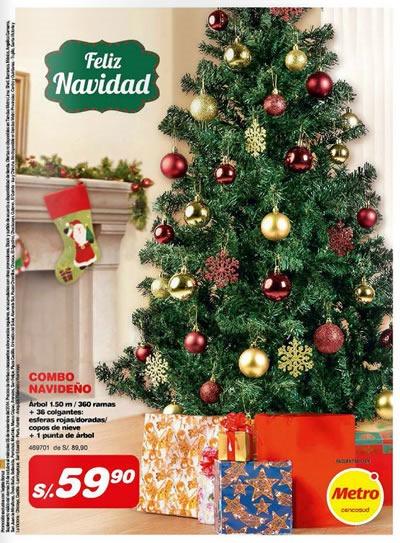 catalogo adornos navidad metro 2014 noviembre