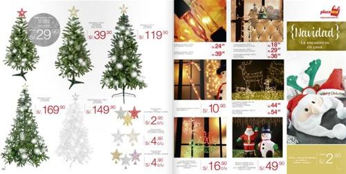 catalogo adornos navidad plaza vea 2013 1