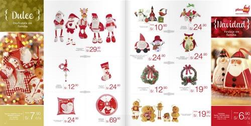 catalogo adornos navidad plaza vea 2013 2