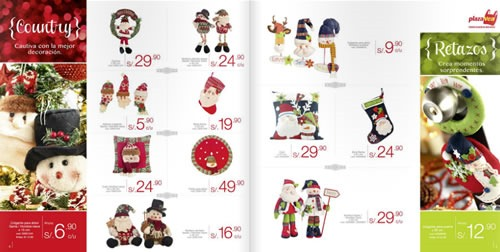 catalogo adornos navidad plaza vea 2013 3