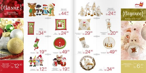 catalogo adornos navidad plaza vea 2013 4