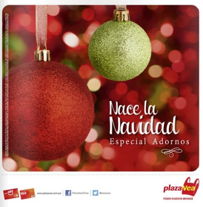 catalogo adornos navidad plaza vea 2013
