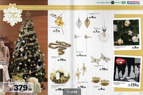 catalogo adornos navidad sodimac homecenter 2013 1