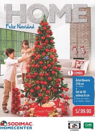 catalogo adornos navidad sodimac homecenter 2014