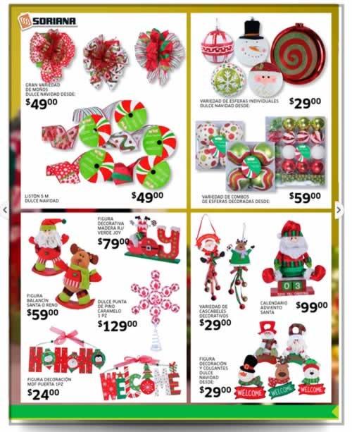 catalogo adornos navidad soriana noviembre diciembre 2013 2