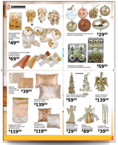 catalogo adornos navidad soriana noviembre diciembre 2013 3