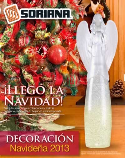catalogo adornos navidad soriana noviembre diciembre 2013