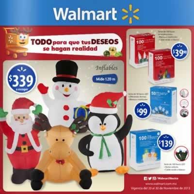 catalogo adornos navidad walmart noviembre 2013