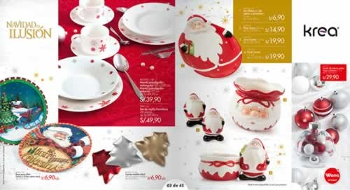 catalogo adornos navidad wong noviembre 2013 1