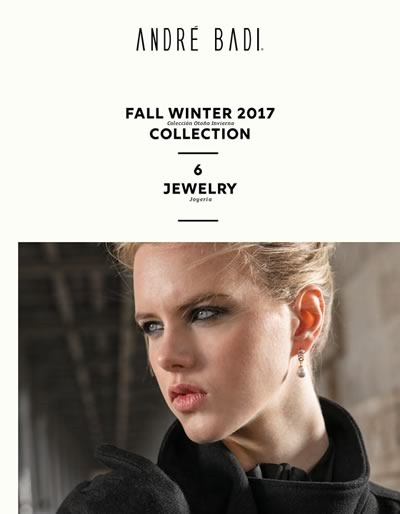 catalogo andre badi fall winter 2017 jewelry