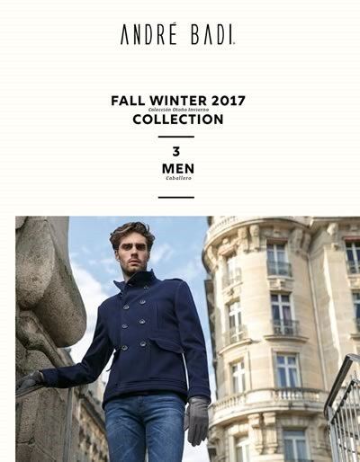 catalogo andre badi fall winter 2017 men