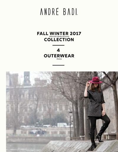 catalogo andre badi fall winter 2017 outwear