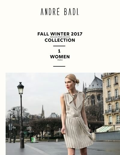catalogo andre badi fall winter 2017 women 1