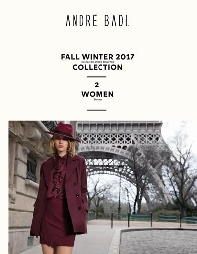 catalogo andre badi fall winter 2017 women 2