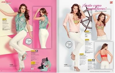 catalogo andrea 2014 jeans verano summer 01