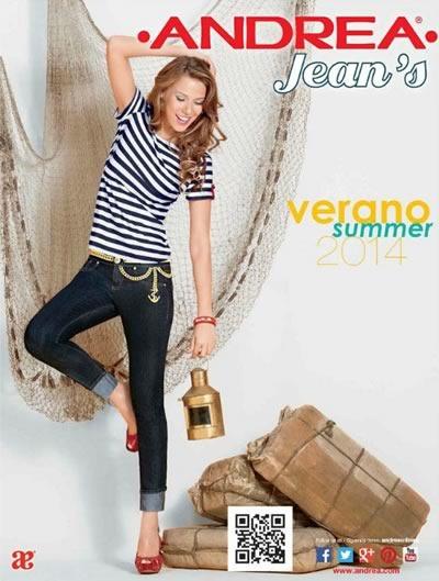 catalogo andrea 2014 jeans verano summer