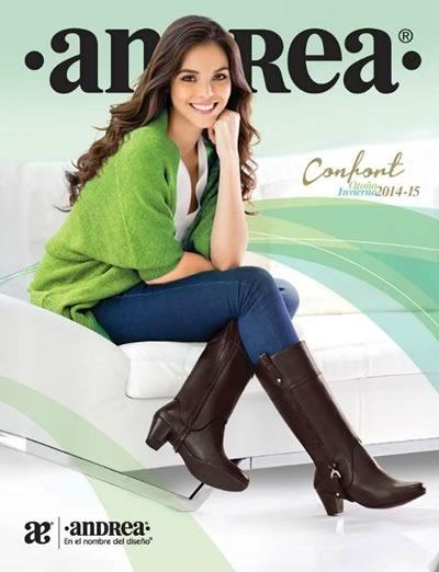 catalogo andrea 2014 otono invierno calzado confort