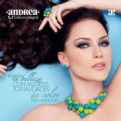 catalogo andrea IU belleza integral primavera 2015