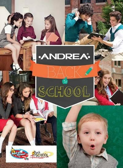 catalogo andrea back to school 2015 para USA