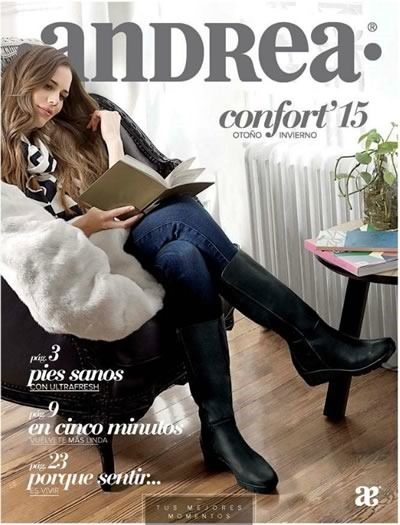 catalogo andrea calzado confort otono invierno 2015