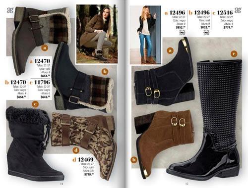 catalogo andrea calzado invierno 2013 mexico 2