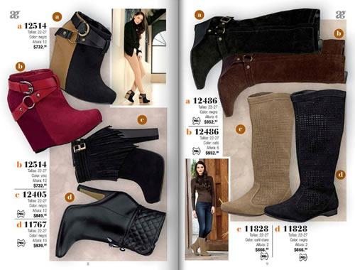 catalogo andrea calzado invierno 2013 mexico 4