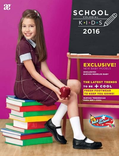 catalogo andrea colegial kids 2016 back to school