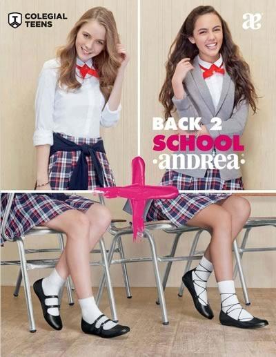 catalogo andrea colegial teens dama 2016