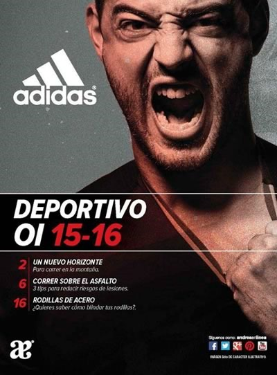 catalogo andrea deportivo adidas oi 2015 16