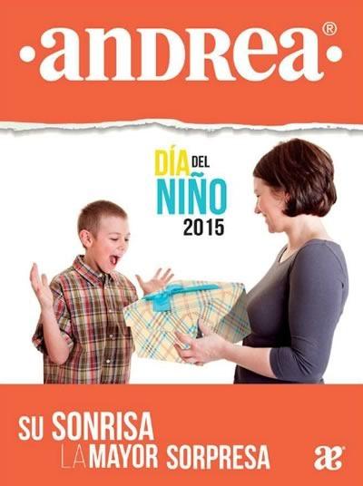 catalogo andrea dia del nino 2015 mexico