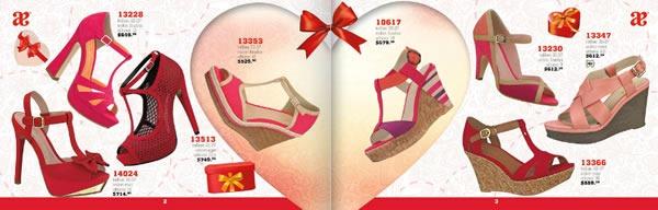 catalogo andrea especial san valentin 2014 zapatos