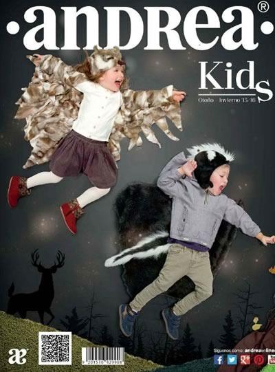 catalogo andrea kids otono invierno 2015