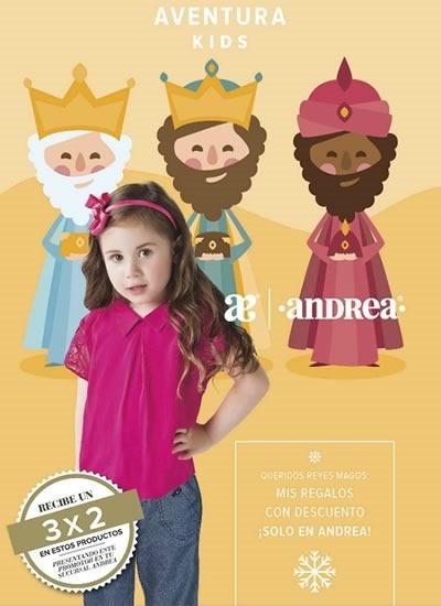 catalogo andrea kids reyes magos enero 2017