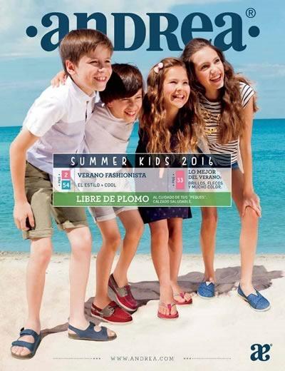 catalogo andrea kids verano 2016 nina