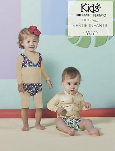 catalogo andrea kids vestir infantil verano 2017