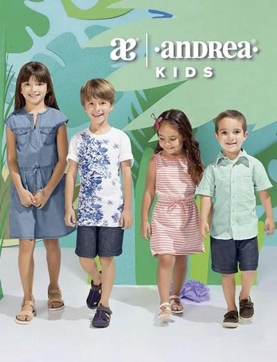 catalogo andrea kids vestir nina verano 2017