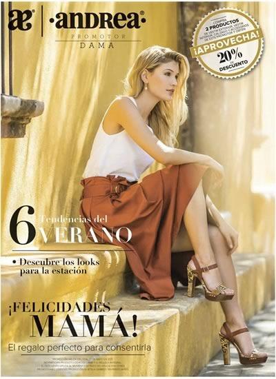 catalogo andrea mayo ofertas promotor dama 2017