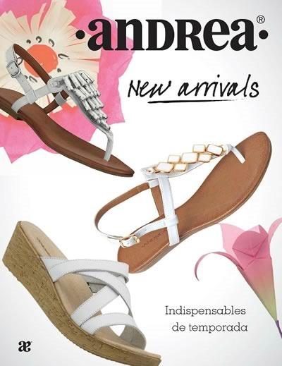 catalogo andrea nuevos zapatos temporada primavera 2015