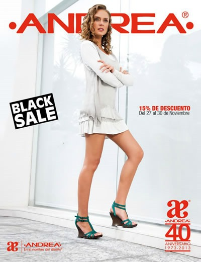 catalogo andrea ofertas black sale 2013
