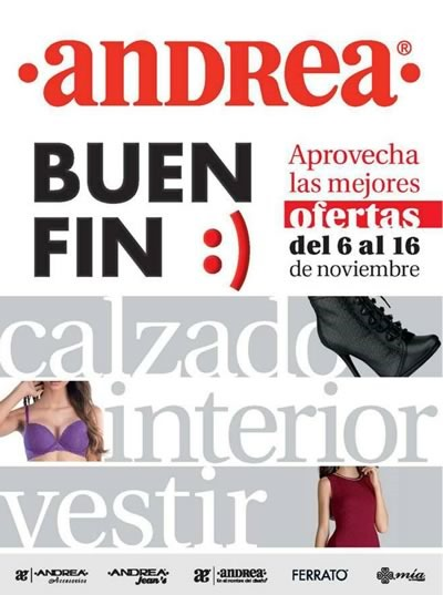catalogo andrea ofertas buen fin 2015 mexico