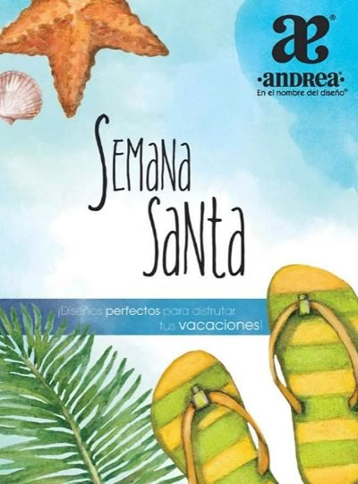 catalogo andrea ofertas semana santa 2015