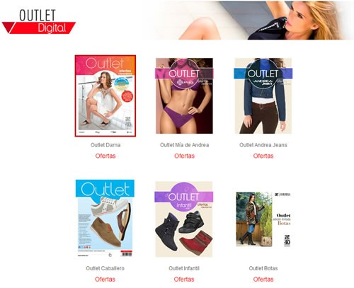 catalogo andrea outlet digital 2014