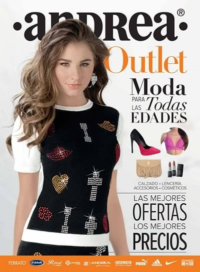 catalogo andrea outlet enero 2016